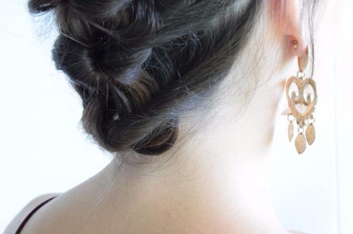 How I wear my hair at thebeach